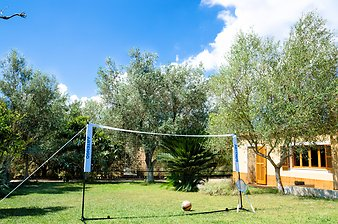 Finca Son Vives: Volleyball oder Faustball
