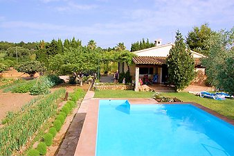 Finca Can Pamboli: Pool und Finca