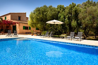 Finca Ca'n Aleix: am Pool