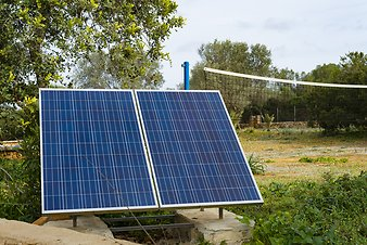 Finca Ses Cases de son Duri: Solarpanels 1
