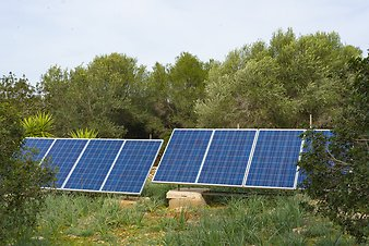 Finca Ses Cases de son Duri: Solarpanels 2