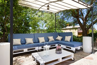 Finca Es Tarongers: Chill Out Ecke