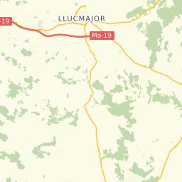 S Illot Mallorca Karte.Lage Finca Sa Gruta Vella Auf Nach Mallorca Gmbh